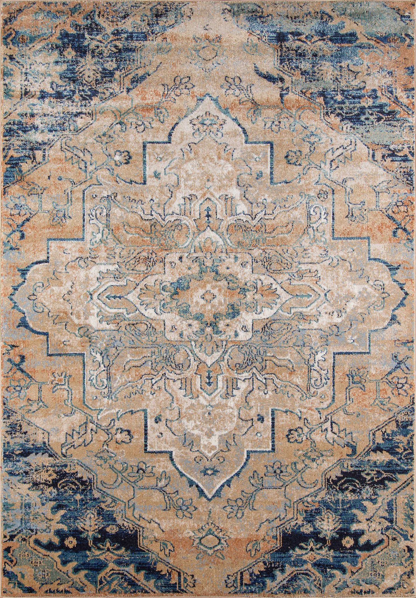 Momeni Amelia AM-03 Navy Area Rug main image