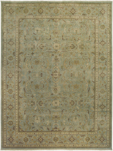 Amer Anatolia ANA-3 Light Green Area Rug main image