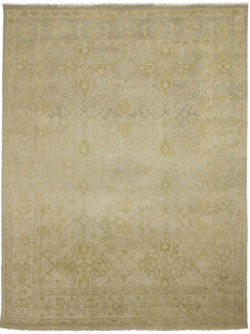 Amer Anatolia ANA-5 Light Green Area Rug main image