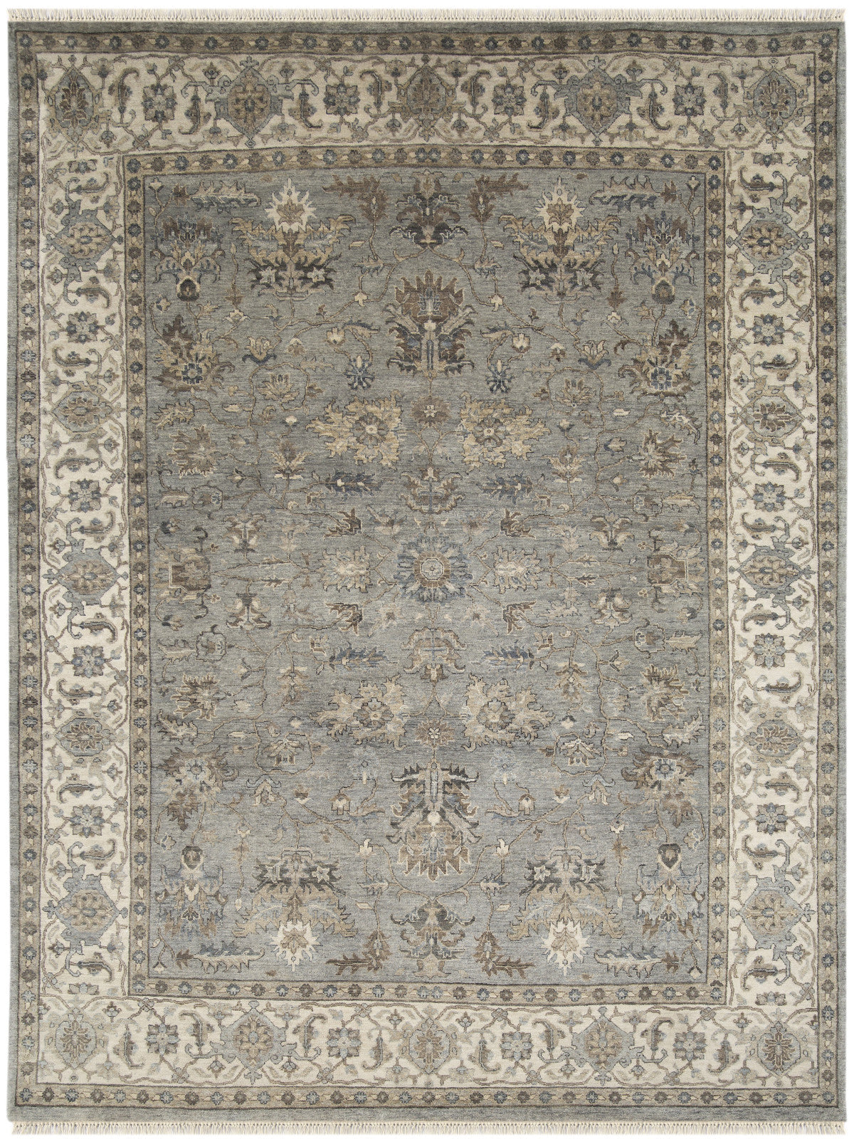 Amer Antiquity ANQ-11 Gray Area Rug main image