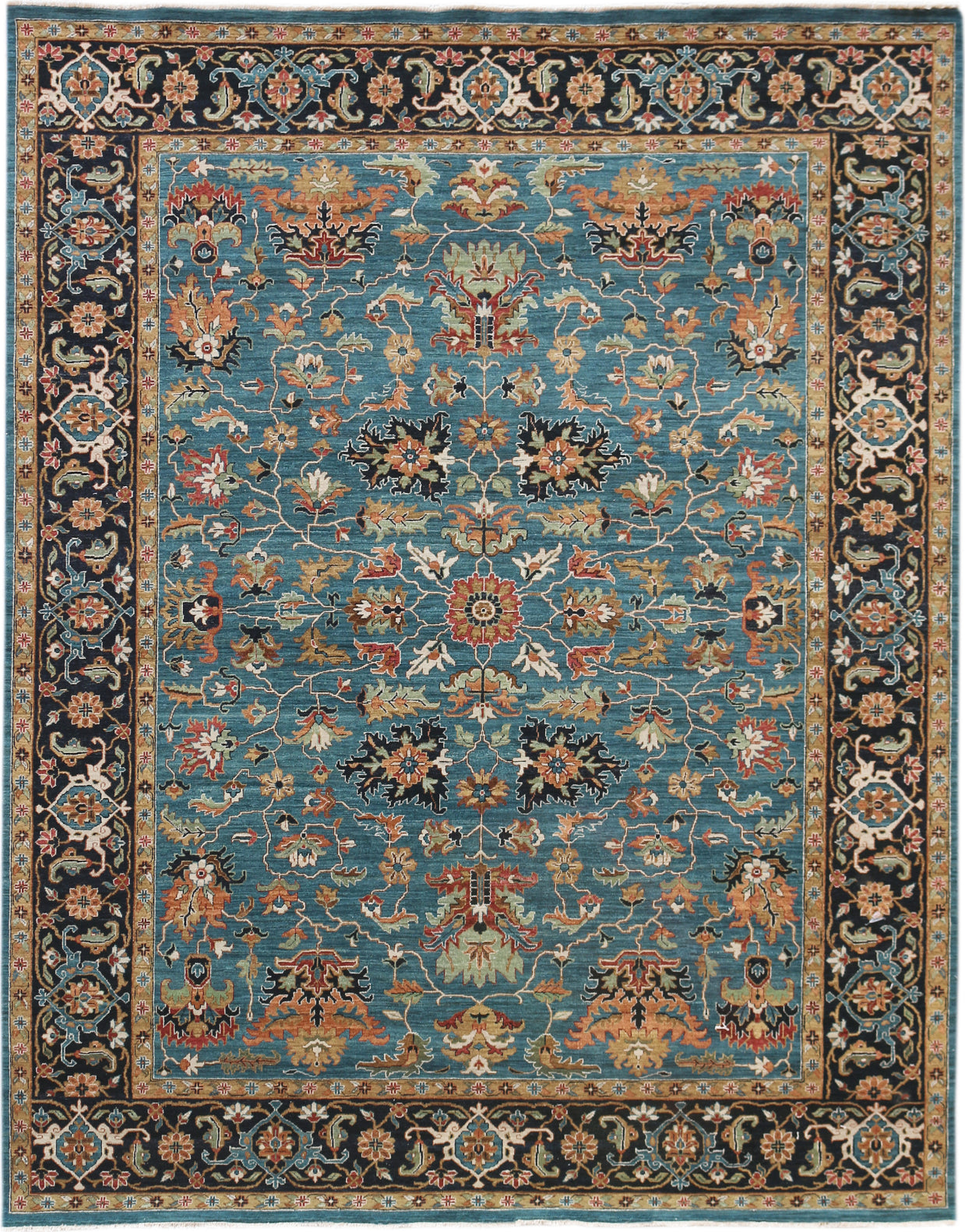 Amer Antiquity ANQ-12 Blue Area Rug main image
