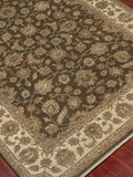 Amer Antiquity ANQ-1 Brown/Beige Area Rug Detail Shot