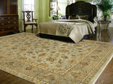 Amer Antiquity ANQ-2 Gray/Beige Area Rug Room Scene