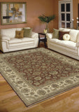 Amer Antiquity ANQ-3 Red/Beige Area Rug Room Scene