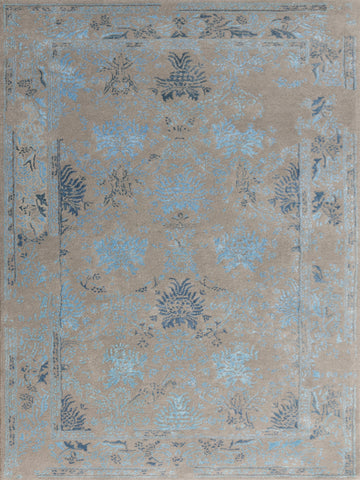 Amer Artist ART-12 Silver/Blue Area Rug main image