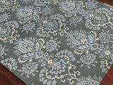 Amer Ascent ASC-289 Carbon Gray Area Rug Detail Shot