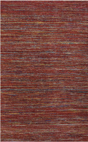 Amer Banaras BAN-1 Red Area Rug main image