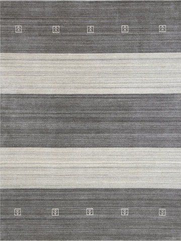 Amer Blend BLN-5 Charcoal Area Rug main image