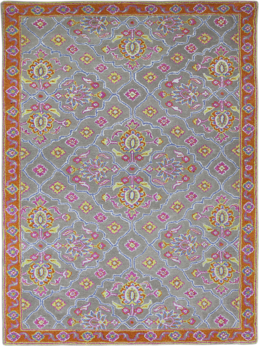 Amer Bloom BLO-23 Pink Area Rug main image