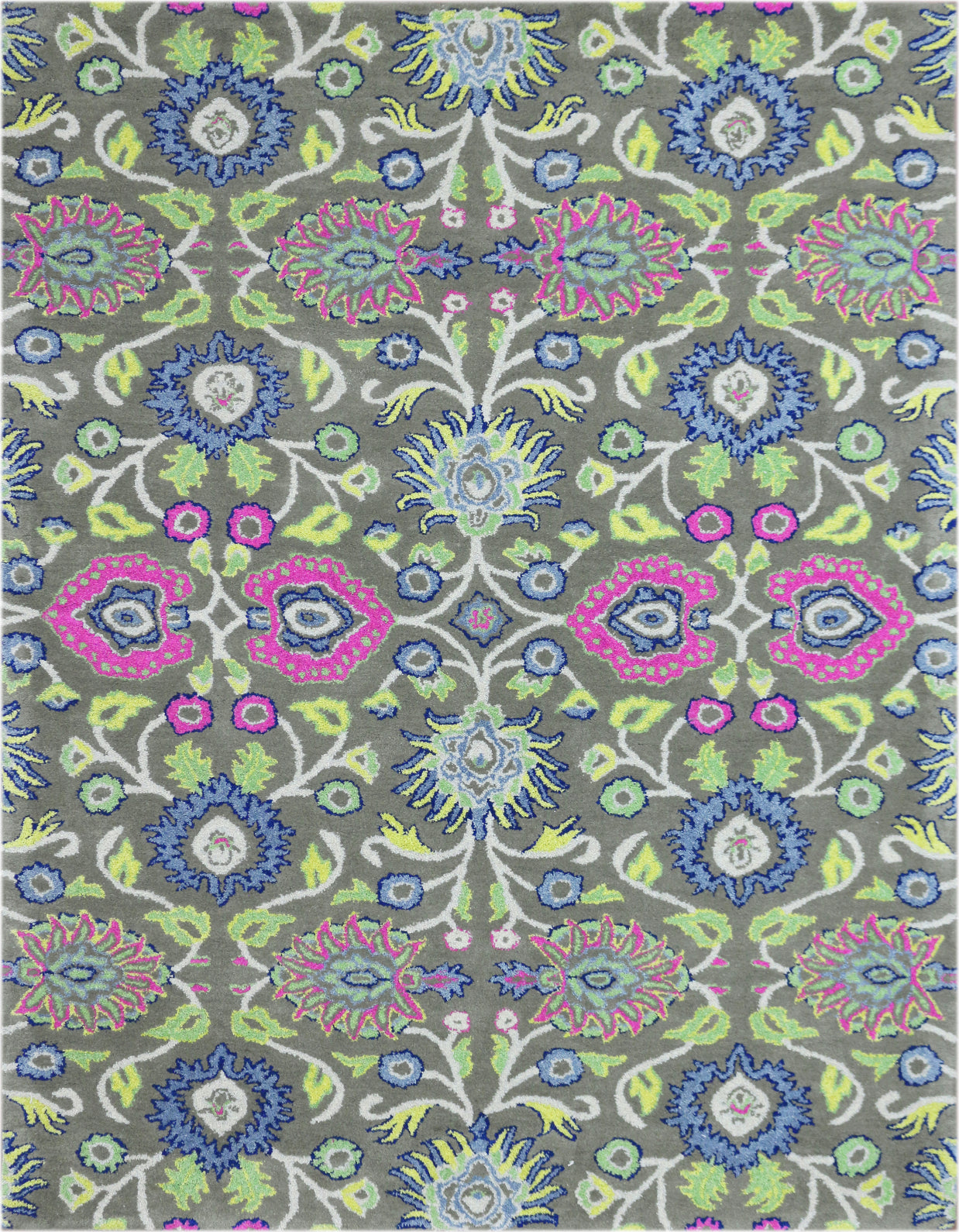 Amer Bloom BLO-29 Green Area Rug main image