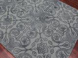 Amer Bansi BNS-17 Gray Area Rug Detail Shot