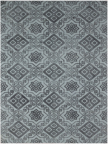 Amer Bansi BNS-21 Medium Gray Area Rug main image