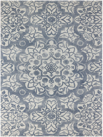 Amer Bansi BNS-26 Cool Gray Area Rug main image
