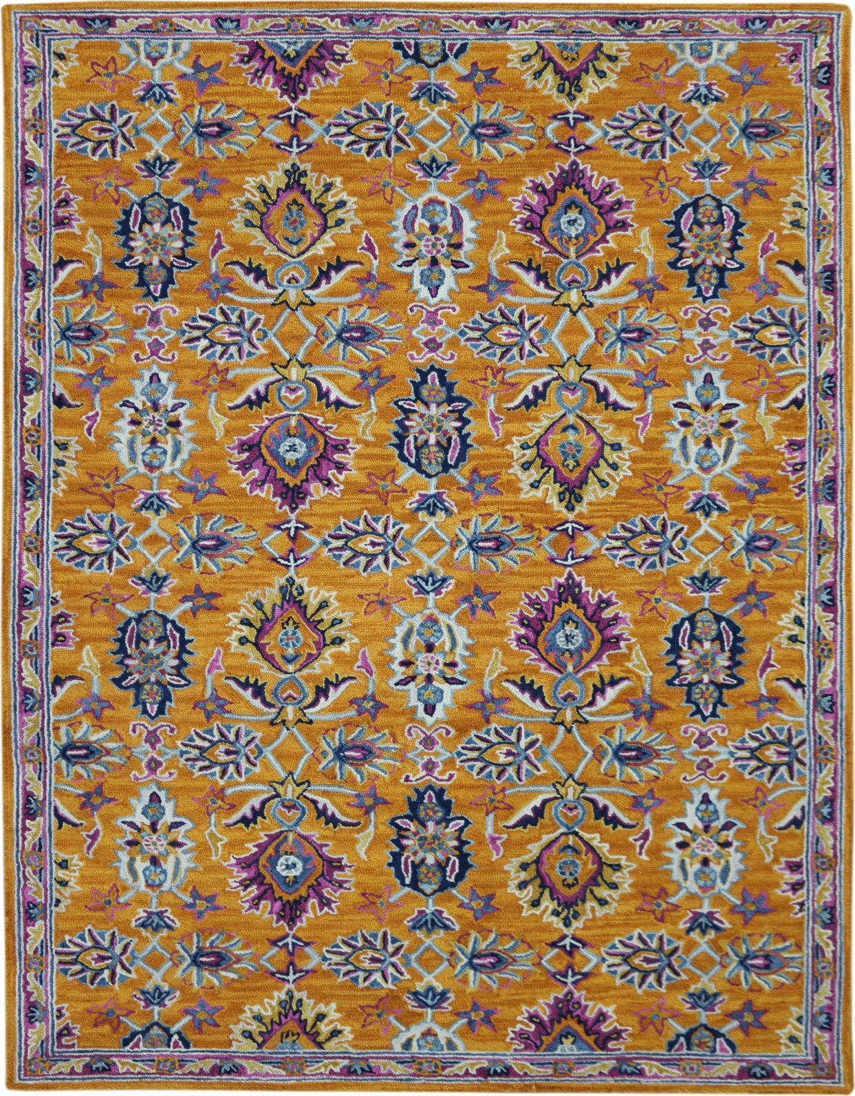 Amer Boho BOH-1 Orange Area Rug main image
