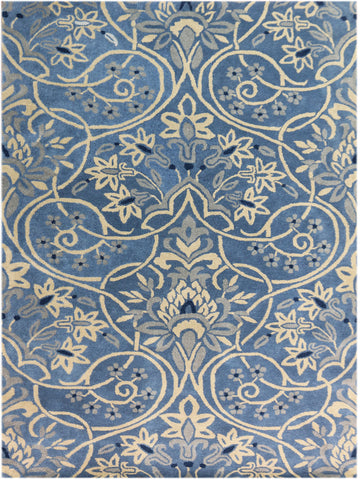 Amer Bombay BOM-2 Denim Blue Area Rug main image