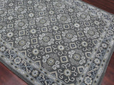Amer Castille CAS-5 Dark Gray Area Rug Detail Shot