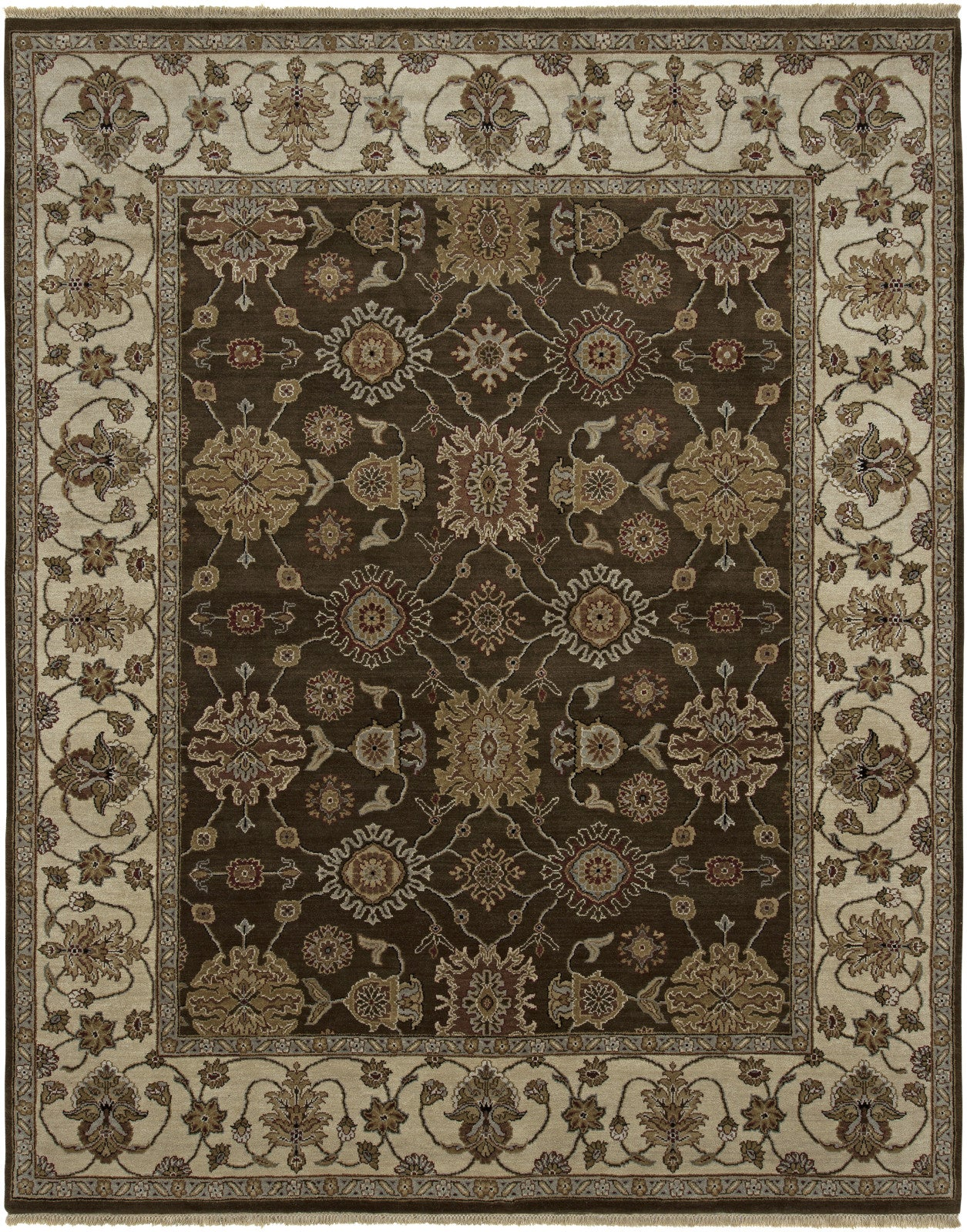 Amer Luxor CD-25 Chocolate/Beige Area Rug main image