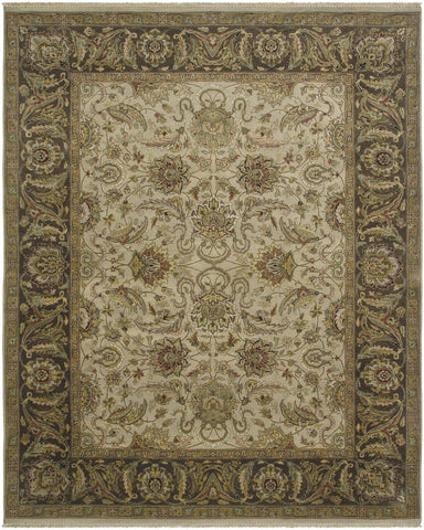 Amer Luxor CD-59 Cream/Chocolate Area Rug main image