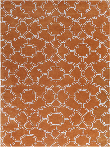 Amer City CIT-1 Orange Area Rug main image