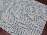 Amer Dwell DWE-2 Sky Blue Area Rug Detail Shot