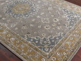 Amer Eternity ETR-1 Gray/Gold Area Rug Detail Shot