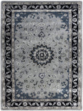 Amer Eternity ETR-5 Gray/Navy Area Rug main image