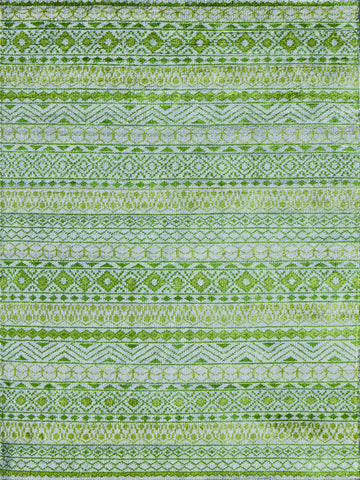 Amer Feza FEZ-7 Apple Green Area Rug main image