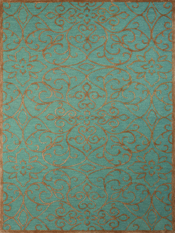 Amer Glow GLO-8 Forest Blue Area Rug main image