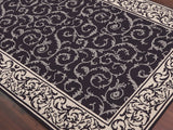 Amer Helena HEL-9 Dark Chocolate Area Rug Detail Shot