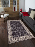 Amer Helena HEL-9 Dark Chocolate Area Rug Room Scene