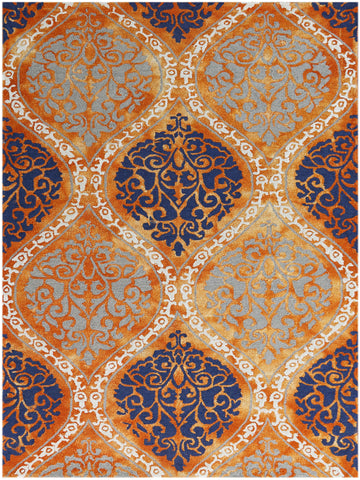 Amer Kanoka KAN-20 Orange Area Rug main image