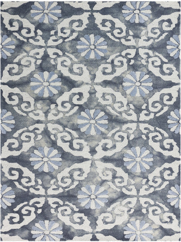 Amer Kanoka KAN-9 Water Blue Area Rug main image