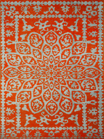 Amer Kimaya KIM-47 Orange Area Rug main image