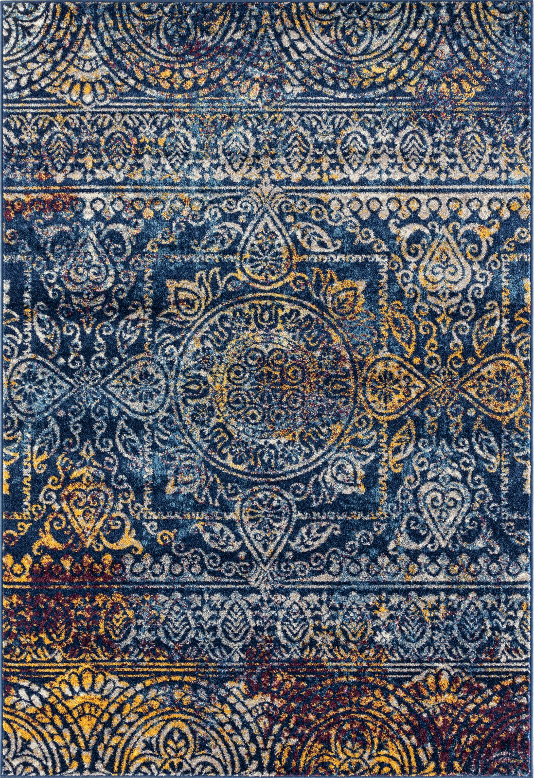 Amer Manhattan MAN-42 Blue Area Rug main image