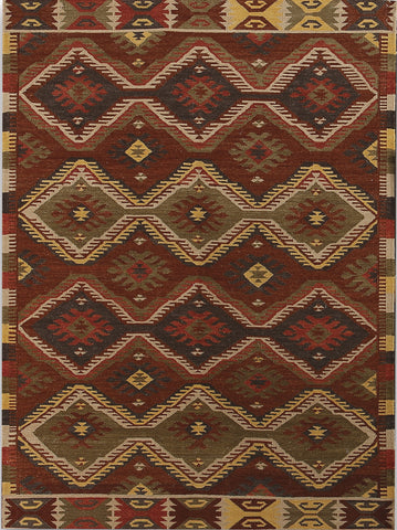 Amer Makamani MKM-3 Burned Orange Area Rug main image