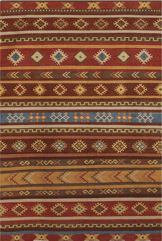 Amer Makamani MKM-4 Burned Orange Area Rug main image