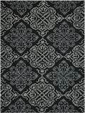 Amer Piazza PAZ-17 Dark Gray Area Rug main image