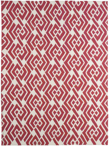 Amer Piazza PAZ-49 Coral Pink Area Rug main image