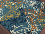 Amer Piazza PAZ-10 Blue Area Rug Detail Shot