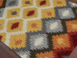 Amer Piazza PAZ-2 Yellow Area Rug Detail Shot