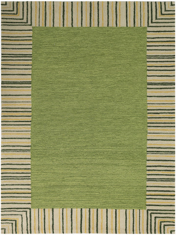 Amer Piazza PAZ-5 Olive Green Area Rug main image