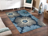 Amer Piazza PAZ-9 Navy Area Rug Room Scene