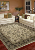 Amer Oasis RA-6 Beige/Brown Area Rug Room Scene