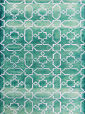 Amer Shibori SHI-10 Sea Blue/White Area Rug main image