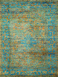 Amer Silkshine SIL-19 Gold/Blue Area Rug main image