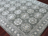 Amer Urban UR-10 Steel Blue Area Rug Detail Shot