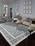 Amer Urban UR-4 Water Blue Area Rug Room Scene