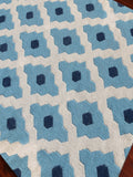 Amer Zara ZAR-73 Light Blue Area Rug Detail Shot