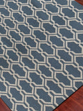 Amer Zara ZAR-9 Blue Area Rug Detail Shot