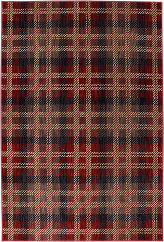 American Rug Craftsmen Dryden Billings Crimson Area main image